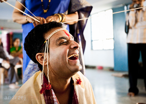 Mandar Purandare zdjęcie ślubne 2008